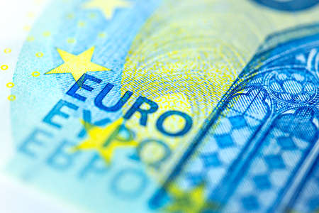 Euro Banknote in a macro shot