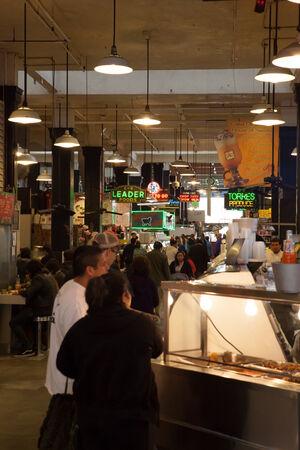 central market: Grand Central Market en Los Angeles, California