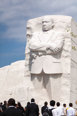 Martin Luther King Jr Monument in Washington, DC