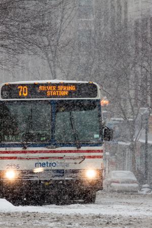 inclement: Blizzard in Washington, DC