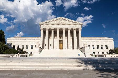 United States Supreme Court Building, Washington, DC 版權商用圖片