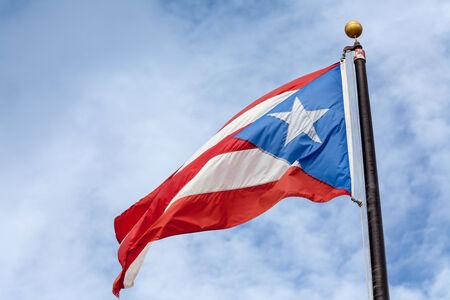 푸에르토 리코의 국기