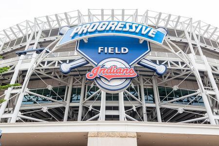 Progressive Field Cleveland Ohio dans Banque d'images - 26799506