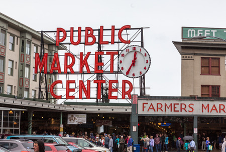 pike place market: Pike Place Market, Seattle, Washington