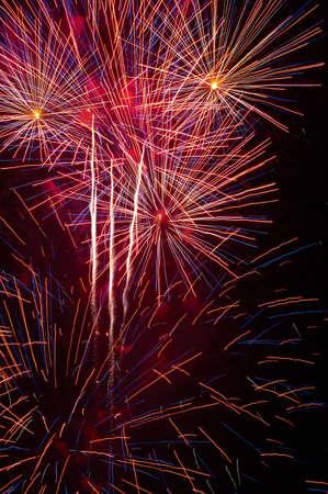 Firework Spectacular Stok Fotoğraf