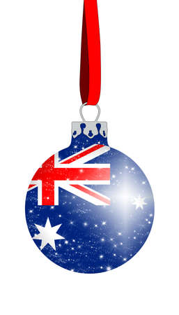 Christmas ball - Australia photo