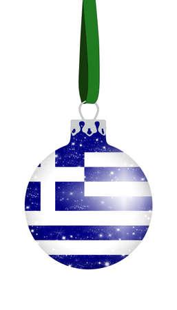 Christmas ball - Greece photo