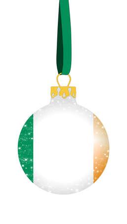 irish christmas: Christmas ball - Ireland
