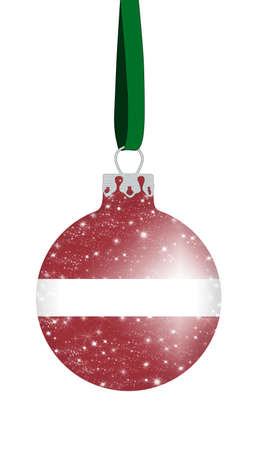 Christmas ball - Latvia