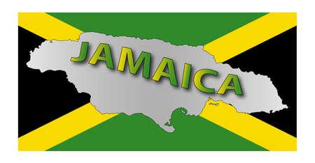 jamaica: Jamaica map