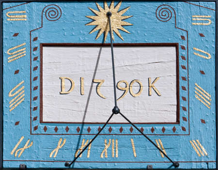 Sundial from the 18th century, Germany
