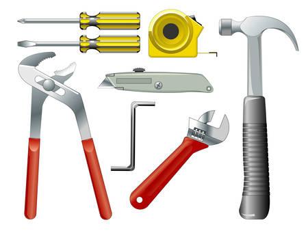 Work tools Stock Vector - 5470868