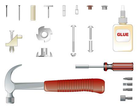 montaje: Kit de montaje de muebles