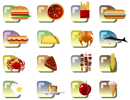 crab meat: Food Icons