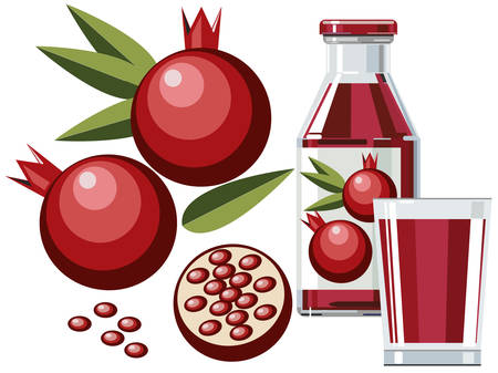 antioxidant: Pomegranate juice