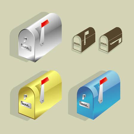Mailboxes Ilustração