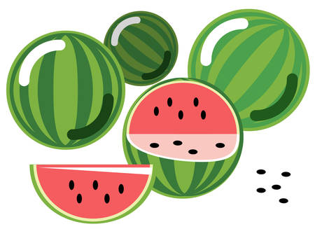 Watermelons Stock Vector - 5686105
