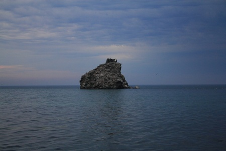 Lake Baikal in anticipation of bad weather Stock Photo - 14978525