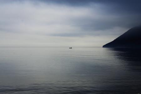 Baikal before rain Stock Photo - 14978524