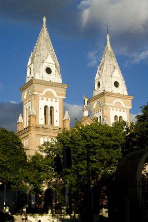 Old colonial church in Ecuador