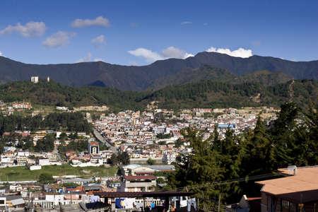 loja: Loja Ecuador, vista con las monta�as de los Andes, y el cielo azul