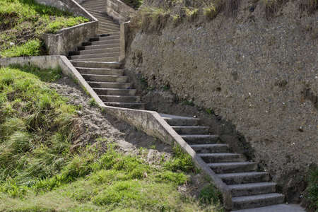 loja: Concrete or cement stairs Stock Photo