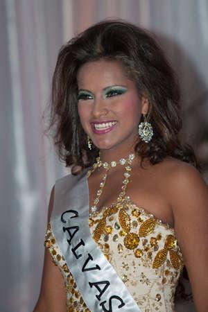 loja: LOJA  ECUADOR,  AUGUST 30 2013  Alishon Ibarbo de Calvas competes in Reina de la provincia de Loja  Queen of Loja   August 30 2013 in Loja Ecuador  Electing Queens is a part of Ecuador Culture