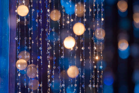 Körök, fények és színek, a kék hűvös hangok