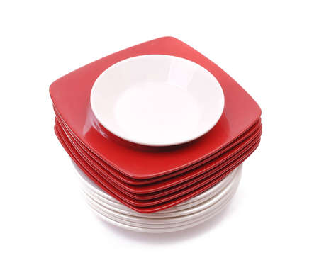 Stack of plates Stock Photo - 9703414