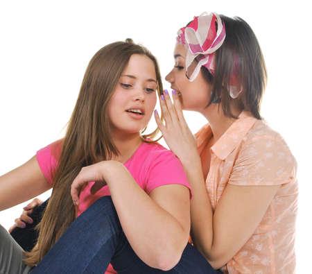 two girls photo