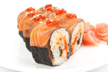 r sliced: sushi Stock Photo