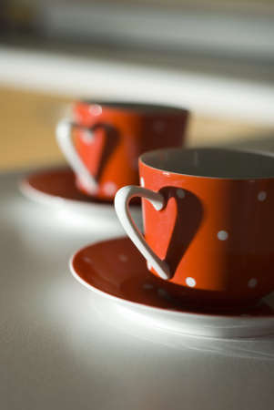 Red Mug with a heart