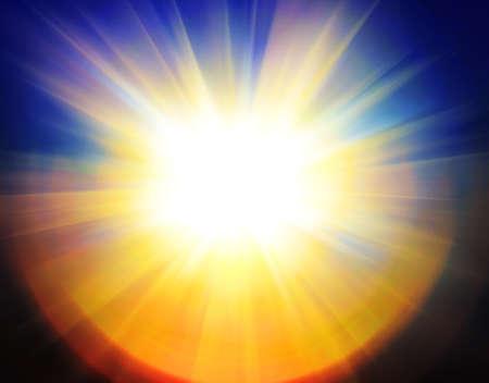 abstract sun background Standard-Bild