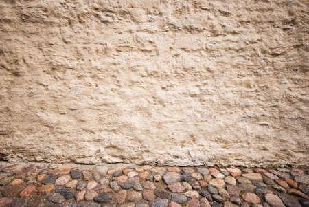 Ancient stone interior photo