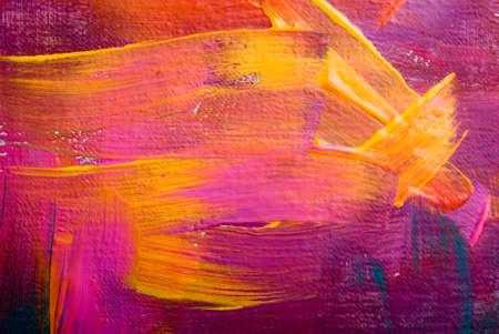 CUADROS ABSTRACTOS: Orígenes del arte abstracto pintado a mano SELF MADE fondo Foto de archivo