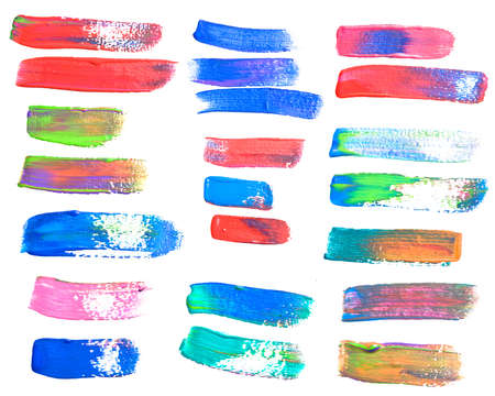 brush strokes - the perfect backdrop for your text Stock Photo - 15254327