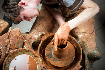 potter at work Stock Photo - 17269578