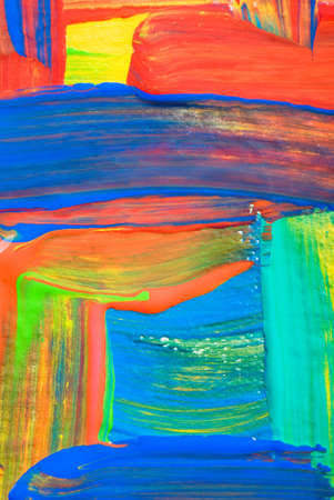 Abstract art backgrounds. Hand-painted background.  Standard-Bild