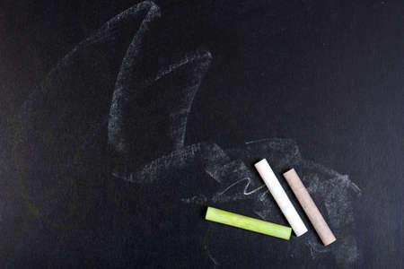 chalk board photo