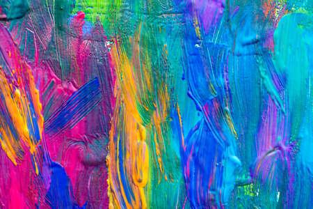 pinturas abstractas: Fondo del arte abstracto. Pintado a mano de fondo. Salir adelante por s� mismo. Foto de archivo