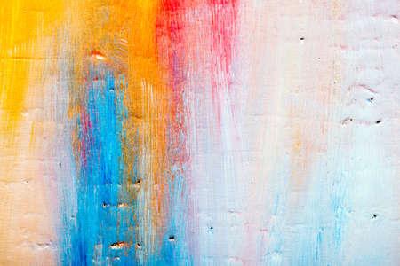 Arte astratto. Sfondo dipinto a mano. FAI DA TE. Archivio Fotografico - 29721561