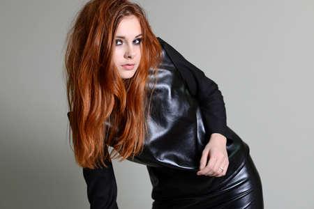 red hair girl: red hair girl