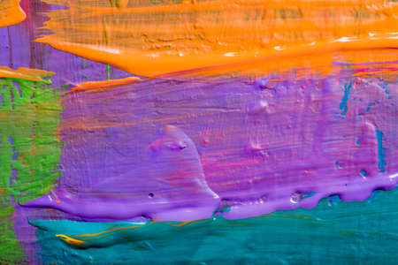 Abstract art backgrounds. Hand-painted background.  Stock Photo