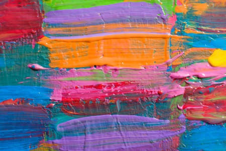 intensity: Abstract art backgrounds. Hand-painted background.  Stock Photo