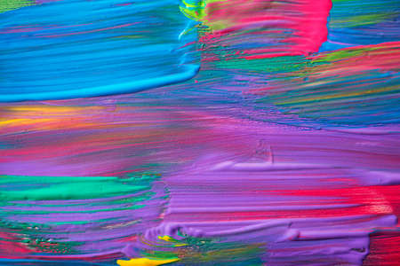 Abstract art background. Hand-painted background. Standard-Bild