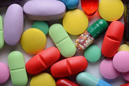 pastillas: píldoras  Foto de archivo