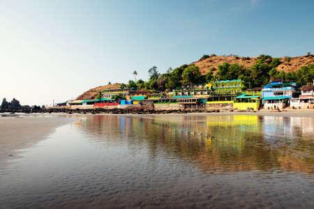 Arambol beach landscape. India Stock Photo