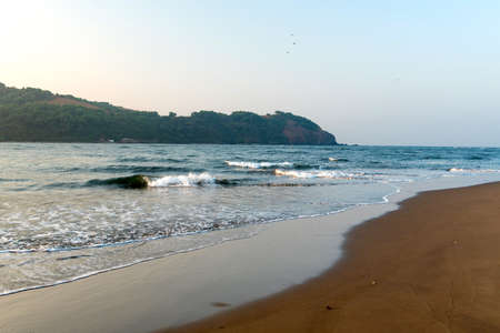 Sea view in Goa, India