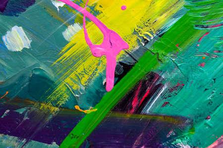 Fondo de arte abstracto Fondo pintado a mano. SALIR ADELANTE POR SÍ MISMO