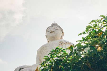 Big Buddha temple in Phuket, Thailand.